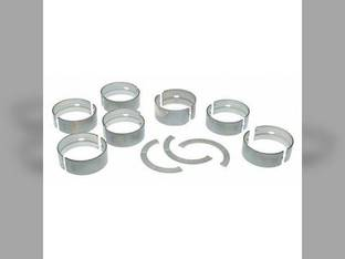"Main Bearings - .020"" Oversize - Set John Deere 4000 4020 4040 4230 4240 4250 4255 4320 4440 4450 4455 4630 4640 4650 4850 7700 4040 4230 4240 4250 4255 4320 4440 4450 4455 4630 4640 4650 4850 7700"
