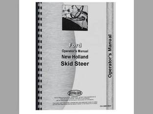 Operator's Manual - FO-O-NH L445 Ford New Holland L445