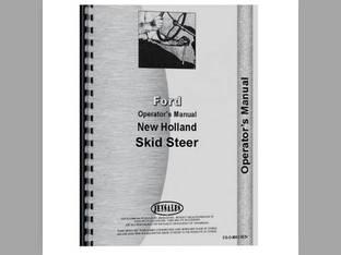 Operator's Manual - L445 New Holland L445