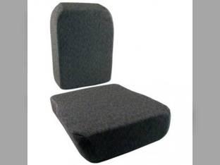 Seat Cushion Set Side-Kick Fabric Gray STX and Steiger Tractors Case IH STX380 STX430 Steiger 335 Steiger 380 STX450 STX275 STX500 STX280 STX325 STX480 STX330 STX425 Steiger 435 STX375 STX530