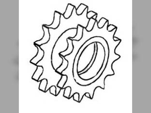 Feeder Beater Idler Sprocket Gleaner M2 M2 L3 L3 M3 M3 L2 L2 71195656