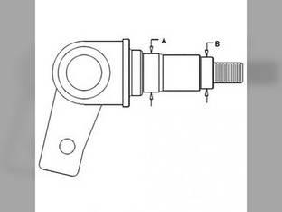 Spindle - LH Case 580K 590 International 580 D125341.