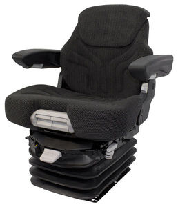 Grammer MSG95G/741 Brown Fabric Seat & Suspension