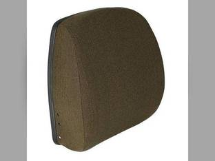 Backrest Hydraulic or Mechanical Seat Fabric Brown John Deere 6600 4255 2355 4455 7720 4840 4030 4040 4430 4440 4850 8430 4055 4755 7200 4250 4650 6620 7700 9400 2750 4050 4230 4240 4450 4630 4640