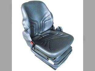 Seat Assembly Grammer Mechanical Suspension Vinyl Black John Deere 7700 9400 7700 9650 Massey Ferguson Case Allis Chalmers New Holland Case IH Kubota Caterpillar Hagie McCormick Bobcat David Brown