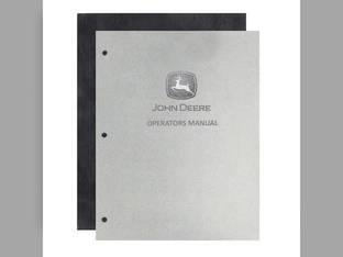 Operator's Manual - JD-O-OMR2033 John Deere 50 50