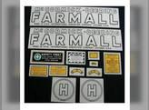 Tractor Decal Set H Mylar International H