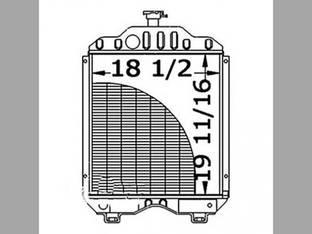 Radiator Kubota M7950 M7970 M6950 15483-72060