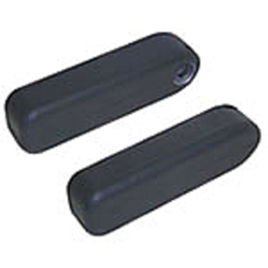 Arm Rests - Black Fabric