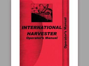 Operator's Manual - IH-O-SUPA AV International Super A Super A