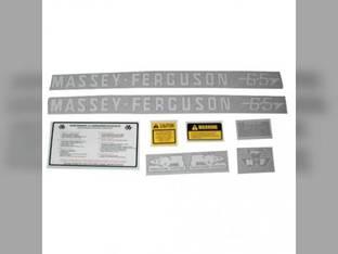 Tractor Decal Set 65 Vinyl Massey Ferguson 65