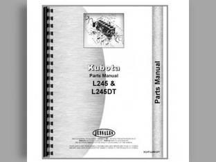 Operator's Manual - KU-O-L245+ Kubota L245 L245 L245