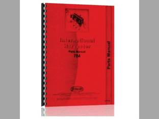 Parts Manual - IH-P-784 Harvester International 784