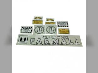 Mylar Decal Set - Farmall & B International B