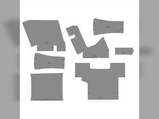 Cab Foam Kit with Headliner Berkshire Gray Case 2294 3294 2094 Case IH 2096 1896