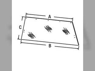 Cab Glass - Rear Window Case 2390 2590 2290 2090 F64517