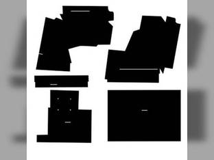 Cab Foam Kit with Headliner Black Oliver 1755 2255 1955 1855