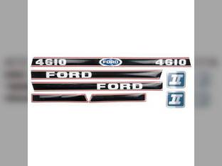 4610 Decal Set Hood Only Ford 4610