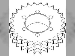 Corn Head, Sprocket Assembly