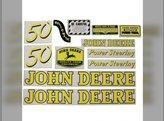 Mylar Decal Set John Deere 50