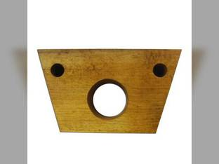 Wood Bearing Block Auger Shoe, Grain Supply