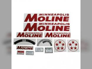 Decal Set Minneapolis Moline 5 Star