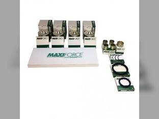 "Engine Rebuild Kit - Less Bearings - .010"" Oversize Pistons John Deere 4600 990 4510 6675 4610 4500 110 Yanmar 4TNE84"