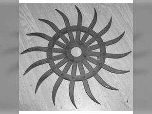 Rotary Hoe Wheel Black John Deere 415 430 75 420 428 Case IH 149165C1 M&W 27-1830114 Yetter 3400-111B 875-001-133