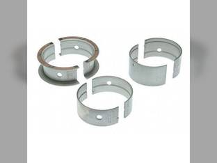 "Main Bearings - .010"" Oversize - Set Case 630 640 450 W5A G188"