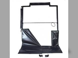 All Weather Enclosure Replacement Door Skid Steer Loaders 240 250 260 270 313 315 John Deere 328 325 313 315 240 332 250 320 260 270 317