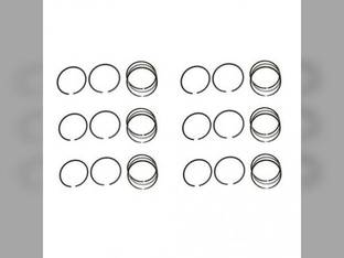 Piston Ring Set - Standard - 6 Cylinder Massey Ferguson 2705 2675 Perkins 6354