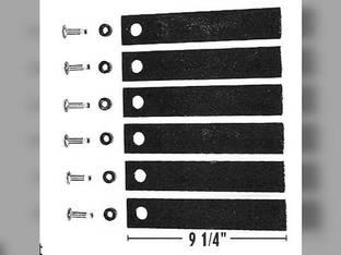 "Straw Chopper Knife Kit - 9-1/4"" John Deere 6622 6620 3300 4420 6601 6602 4400 AH126851"