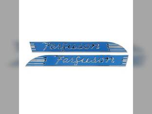 Hood Side Emblem Set Massey Ferguson TE20 TEA20 TO20 181707M1