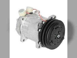 Air Conditioning Compressor with Clutch Ford 4330 Allis Chalmers Case IH JX85 JX75 JX80U JX65 JX55 JX60 JX95 JX90 JX70 JX90U JX80 New Holland 7635 TD80D TL80 4835 6635 TL90 TL100 TD95D TL70 5635 FIAT