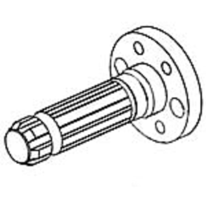 PTO Shaft, 540 RPM