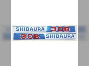Decal Shibaura S30B