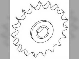 Tightener Sprocket Gleaner E R40 L M2 N6 R50 C L2 N7 71128926