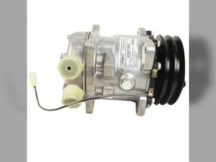 Air Conditioning Compressor - Sanden Style New Holland TN65F TN75D TN70F TN90F TN75SA TN75S TN55D TN80F TN95F TN75F TN70D TN85FA TN65D TN55S Case IH JX1070C JX1095N JX1075C JX1060C JX1075N JX1070N