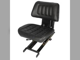 Seat Assembly Sliding Without Armrests Vinyl Black Mahindra 4505 6525 6500 3825 3525 5005 575 4025 E40 5525 C35 5500 3325 3505 4500 450 485 C27 E350 C4005 6025 6000 475 4525 0080000160B91