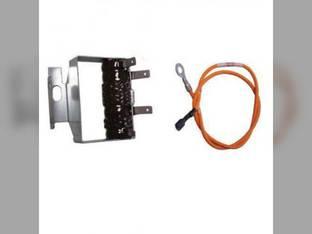 Blower Speed Resistor - 3 Terminal Case IH MX120 CX90 MX80C MX110 MX170 MX150 MX90C CX100 MX135 CX50 CX70 MX100 CX60 CX80 MX100C 359671A1