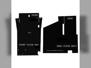 Cab Foam Floor Mat Black Massey Ferguson 4900 4800 4880 4840