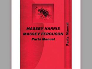 Parts Manual - MH-P-MF40 Massey Harris/Ferguson Massey Ferguson 40 40