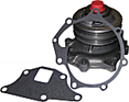 Water Pump With Double Groove Pulley & Fan Clutch