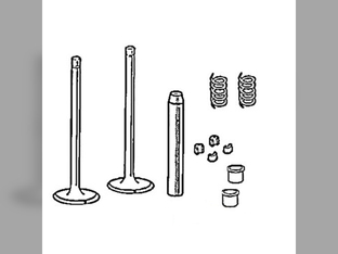 Cylinder Head, Valve Train, Kit, Standard