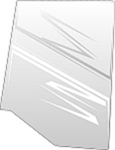 Door Glass, Left Hand