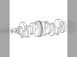 Crankshaft - 76 Tooth Gear - Late Ford 6000 7610 6700 7710 6610 7700 BSD444 7100 7600 6600 7500 7200 268 A62 7000 E5NN6303DA