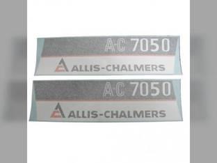 Decal Set Allis Chalmers 7050