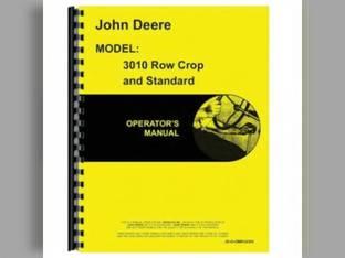 Operator's Manual - 3010 John Deere 3010 3010 OMR32385