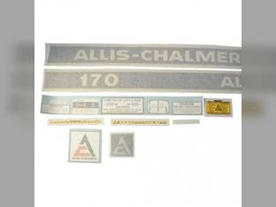 Decal Set Allis Chalmers 170