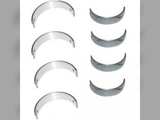 "Main Bearings - .020"" Oversize - Set New Holland TC45A L565 LX485 L465 TC45DA LS160 LS170 L170 LS140 TC45 C175 LX565 T2410 L175 LS150 T2320 LX465 Case IH Case 420CT 420 410 Takeuchi Perkins Shibaura"